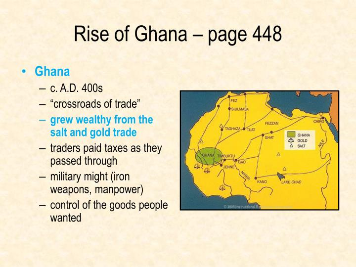 Rise of Ghana – page 448