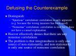 defusing the counterexample6