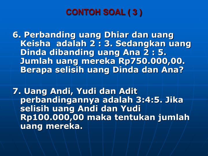 CONTOH SOAL ( 3 )
