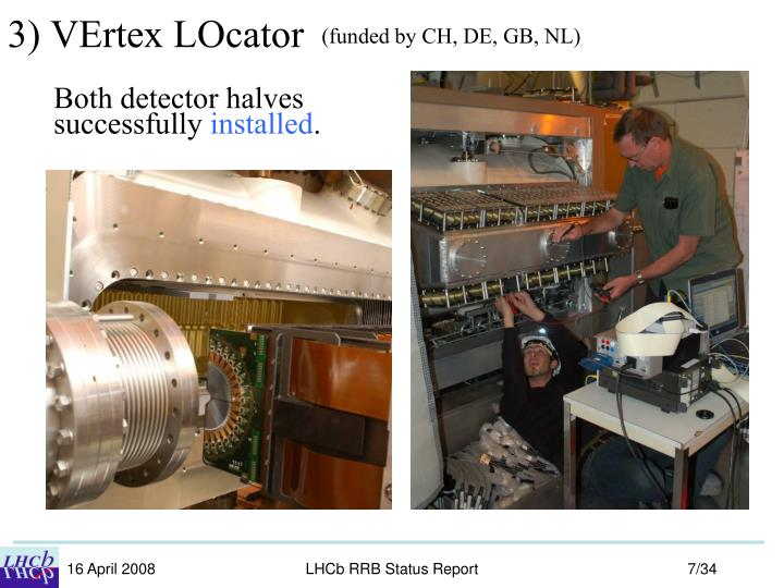 3) VErtex LOcator