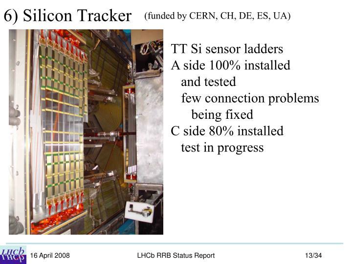 6) Silicon Tracker