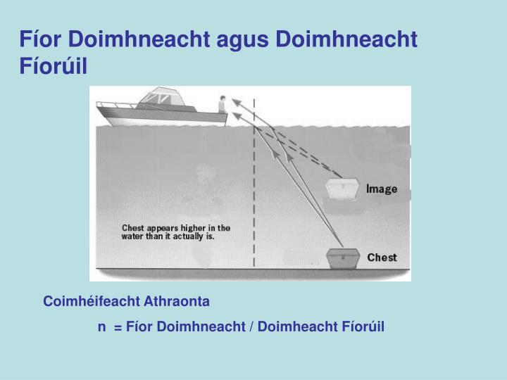 Fíor Doimhneacht agus Doimhneacht Fíorúil