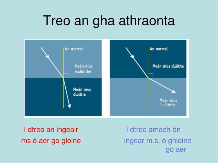 Treo an gha athraonta