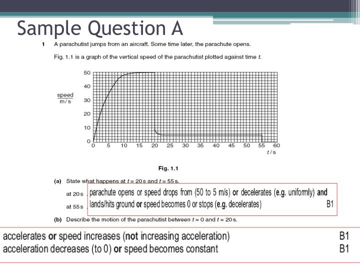 Sample Question A