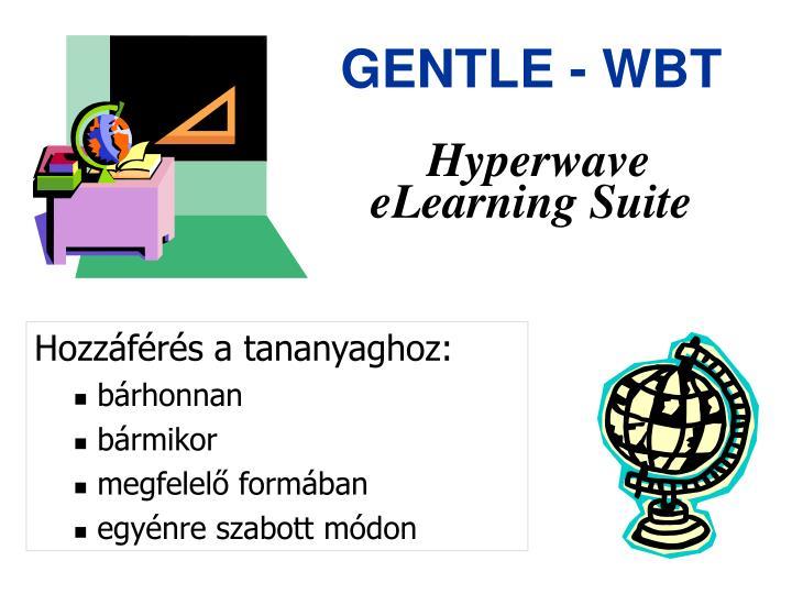 GENTLE - WBT