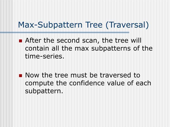 Max-Subpattern Tree (Traversal)