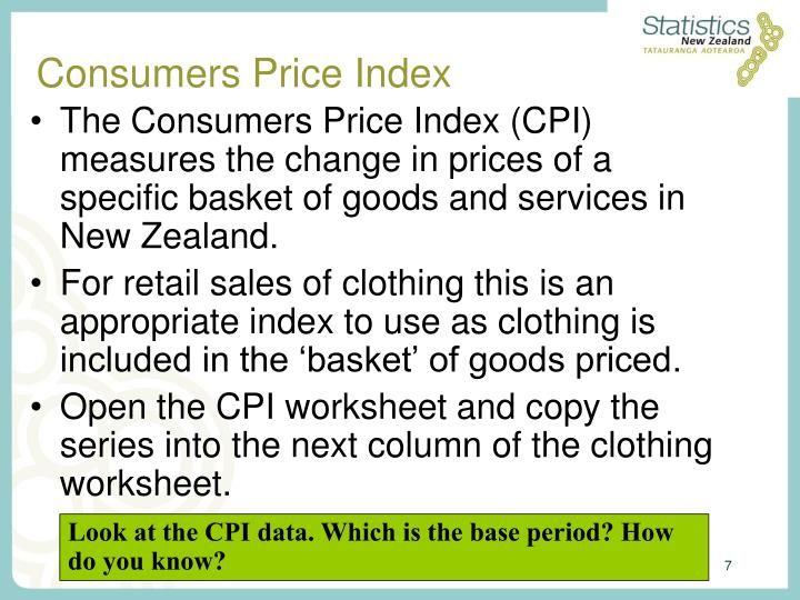 Consumers Price Index