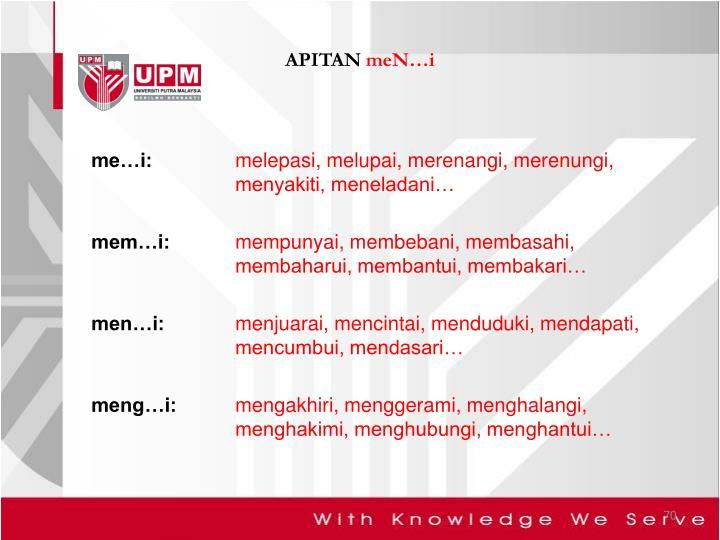 APITAN