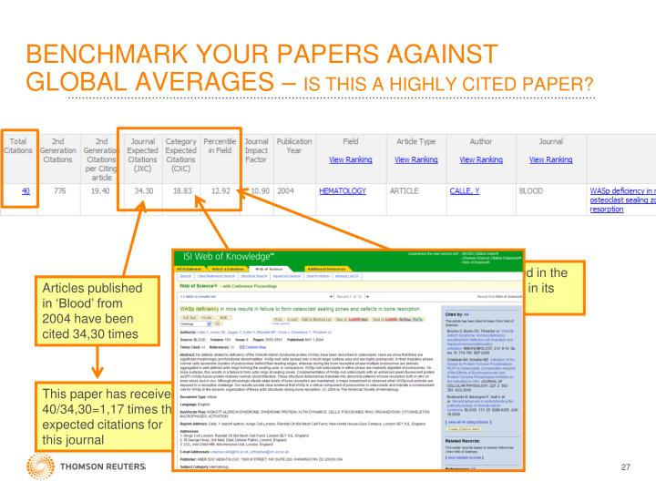 BENCHMARK YOUR PAPERS AGAINST