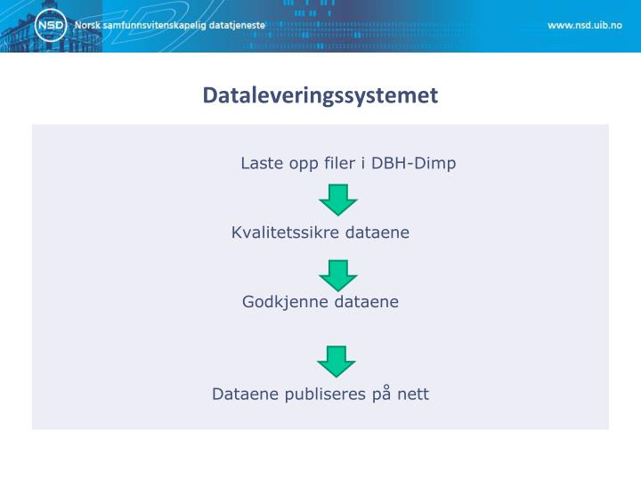 Dataleveringssystemet