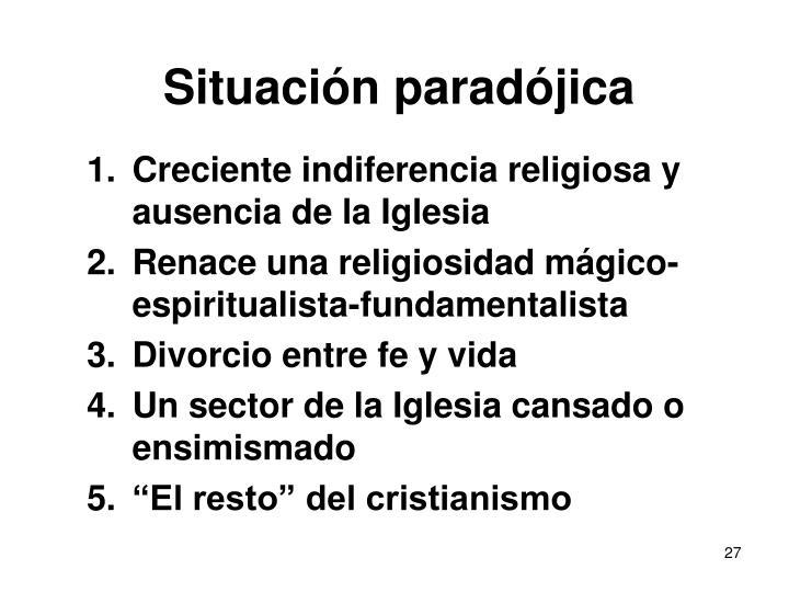 Situación paradójica
