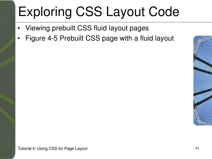 Exploring CSS Layout Code