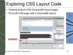 exploring css layout code4