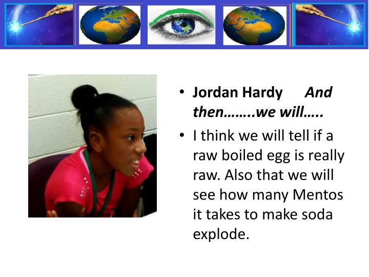 Jordan Hardy