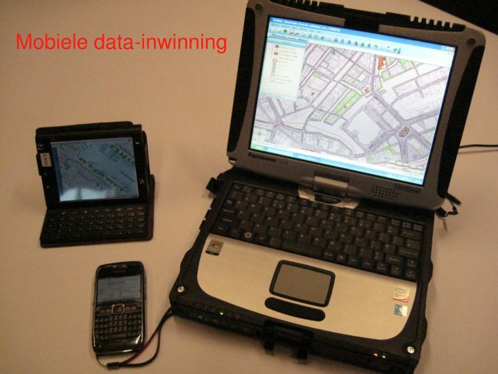 Mobiele data-inwinning