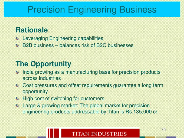 Precision Engineering Business