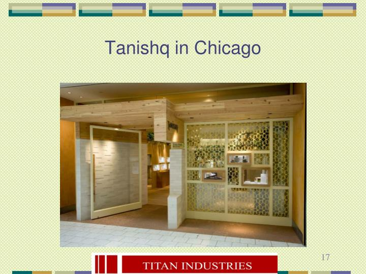 Tanishq in Chicago