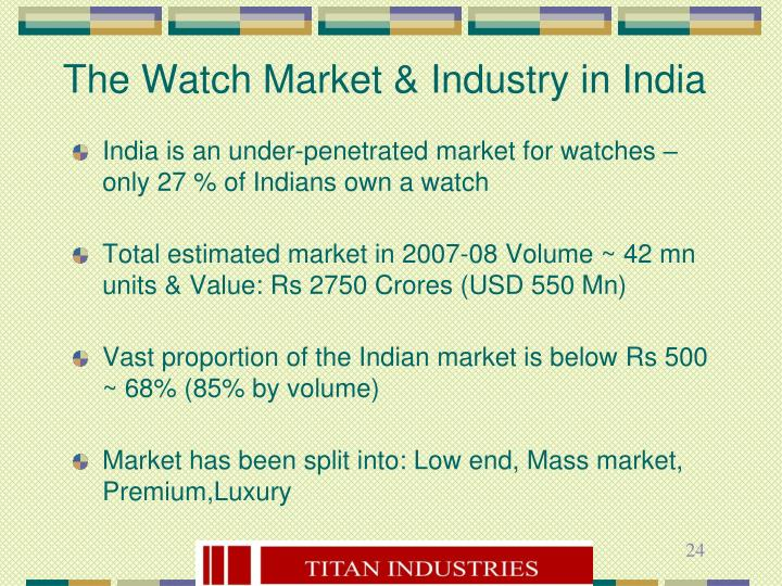 The Watch Market & Industry in India