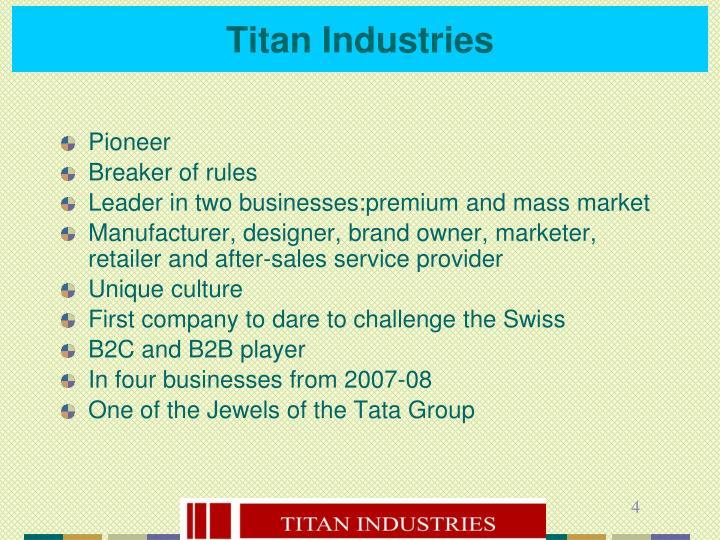 Titan Industries