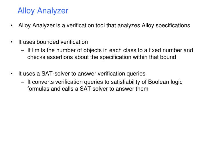 Alloy Analyzer