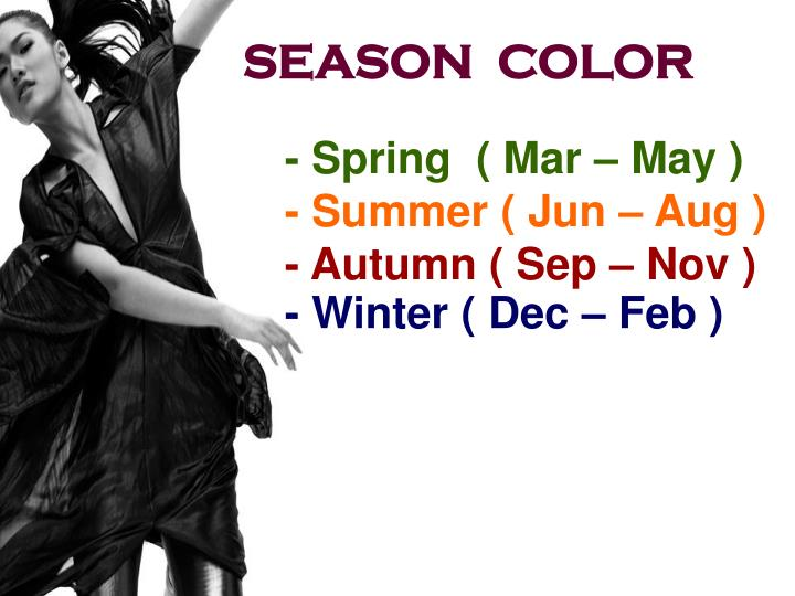 SEASON  COLOR