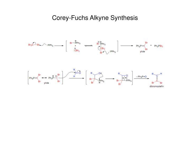 Corey-Fuchs Alkyne Synthesis