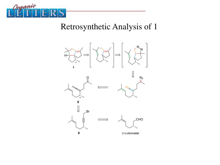 Retrosynthetic Analysis of 1