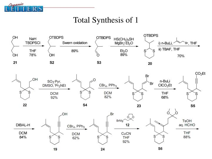 Total Synthesis of 1