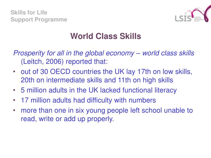 World Class Skills