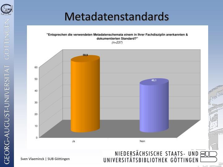 Metadatenstandards
