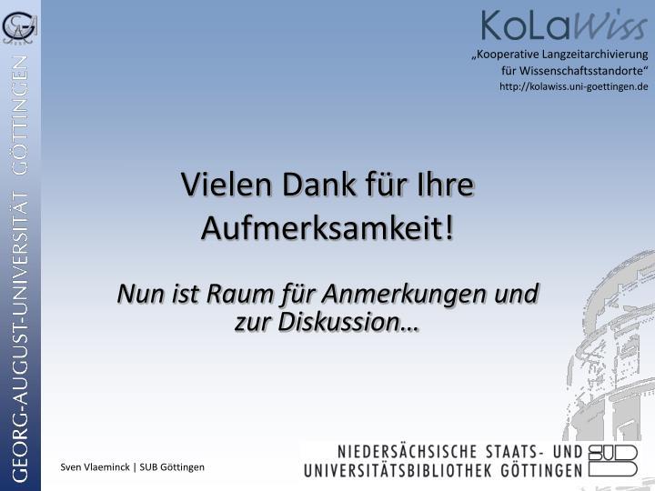 """""""Kooperative Langzeitarchivierung"""