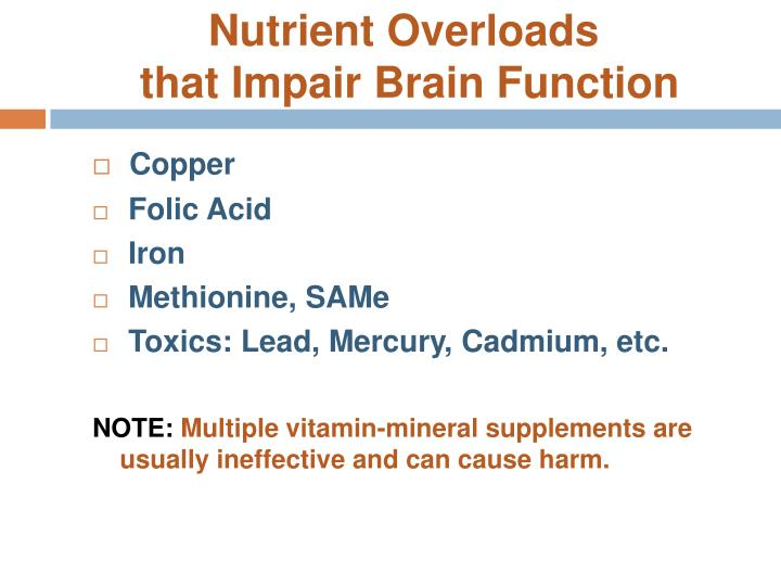 Nutrient Overloads
