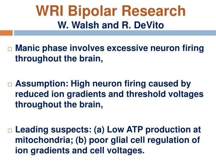 WRI Bipolar Research