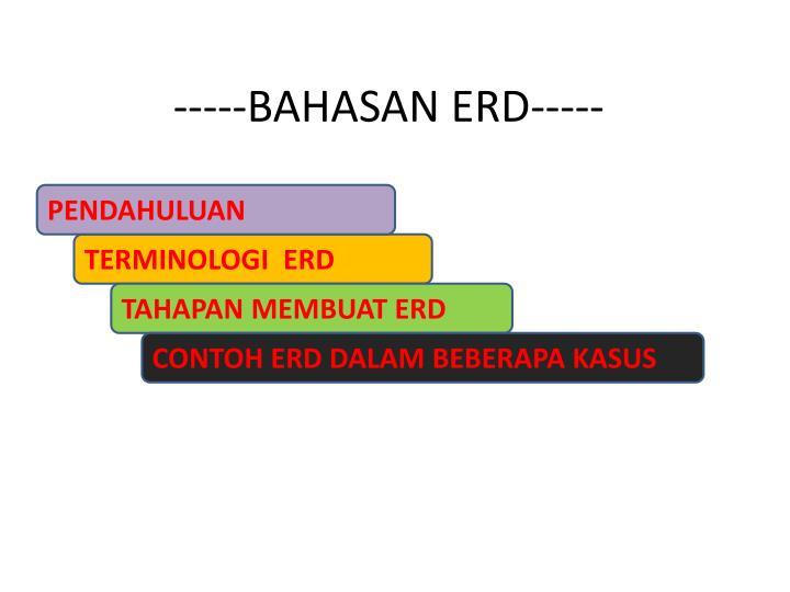 -----BAHASAN ERD