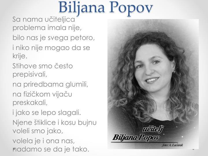 Biljana Popov