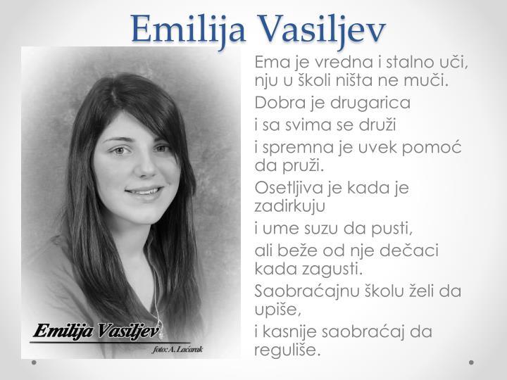 Emilija Vasiljev