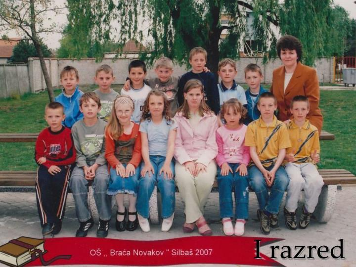 I razred
