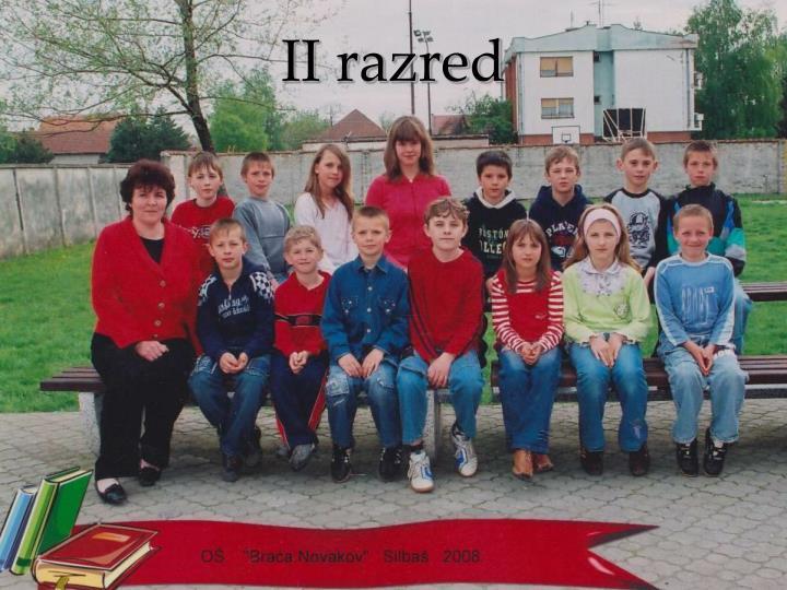 II razred