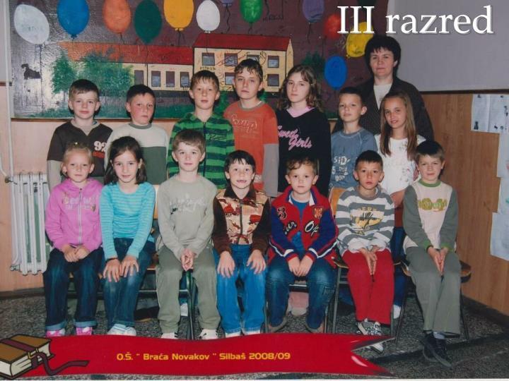 III razred