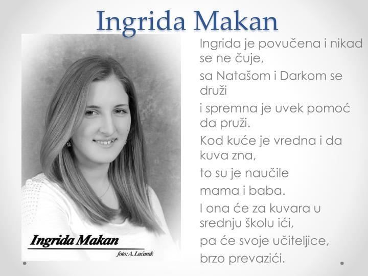 Ingrida Makan