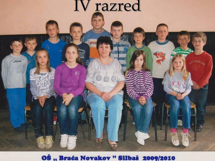 IV razred
