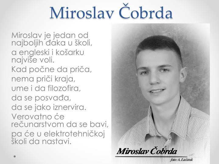 Miroslav Čobrda