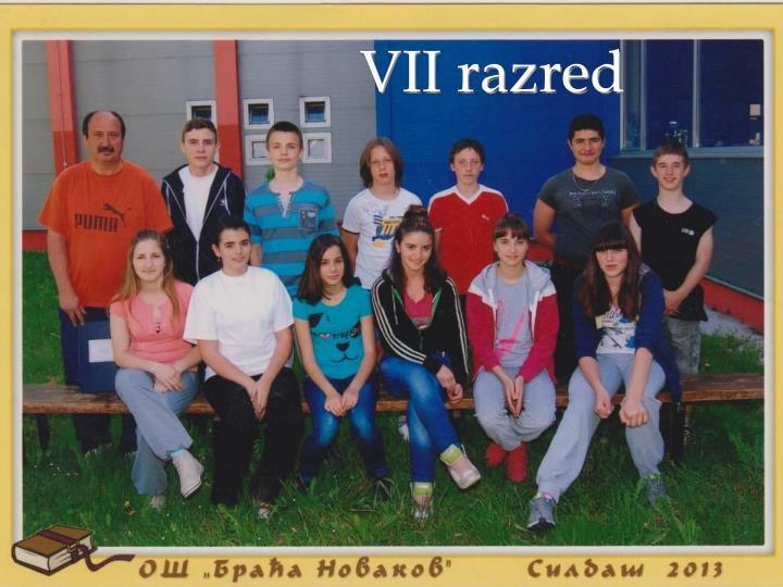 VII razred