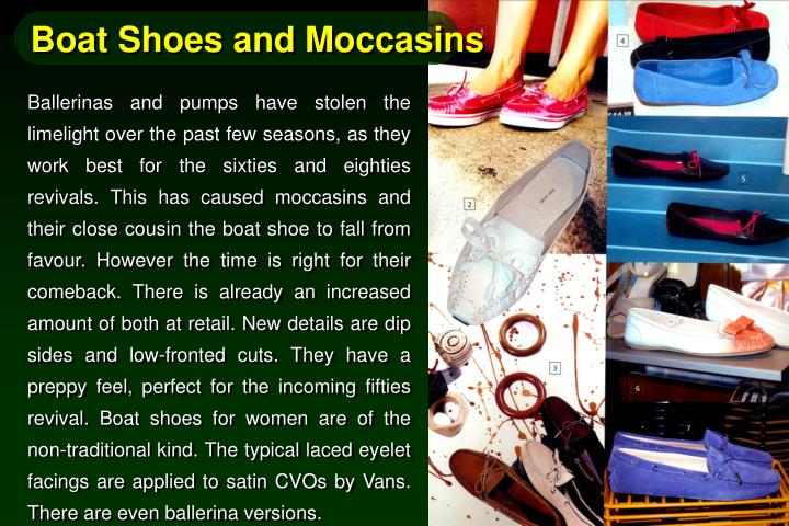 Boat Shoes and Moccasins