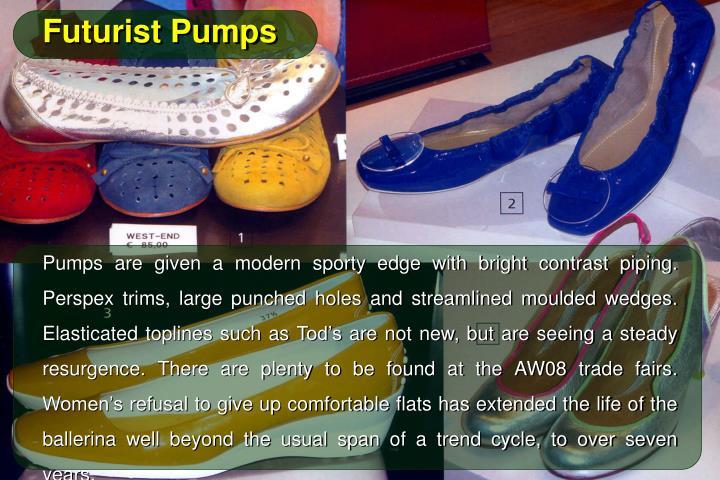 Futurist Pumps