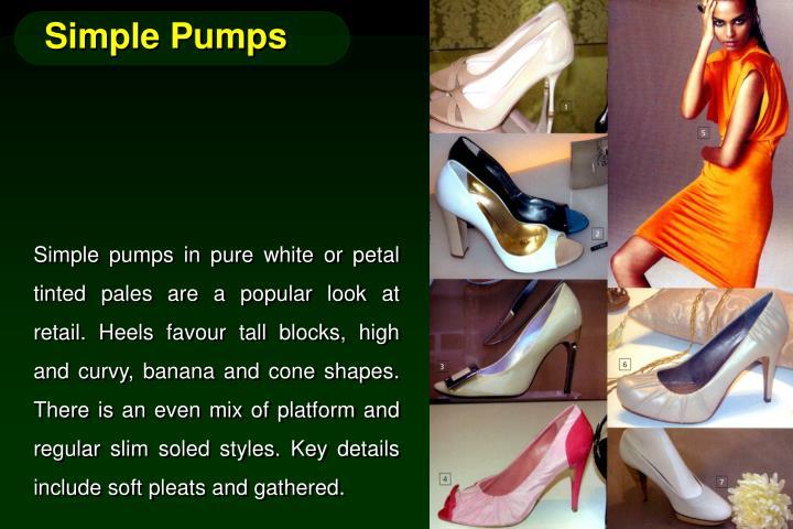 Simple Pumps