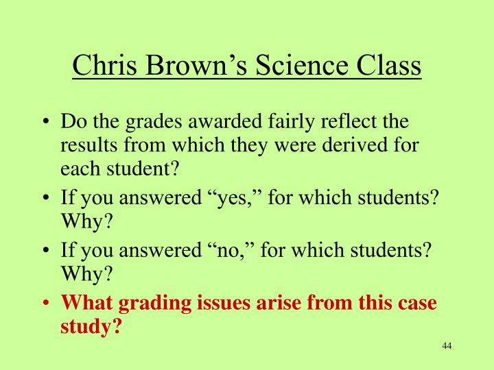 Chris Brown's Science Class
