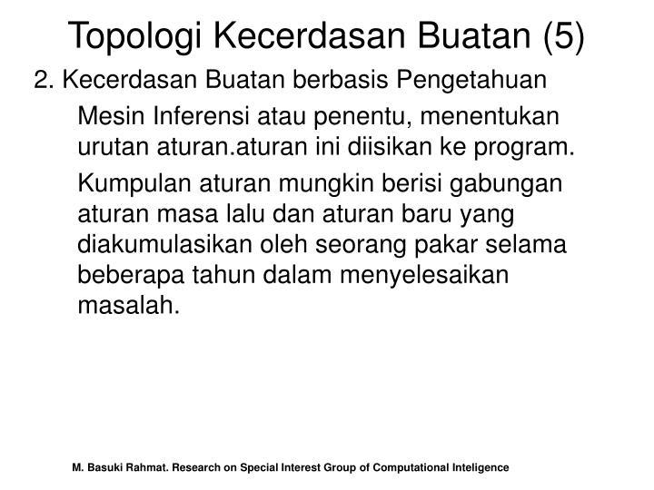 Topologi Kecerdasan Buatan (5)
