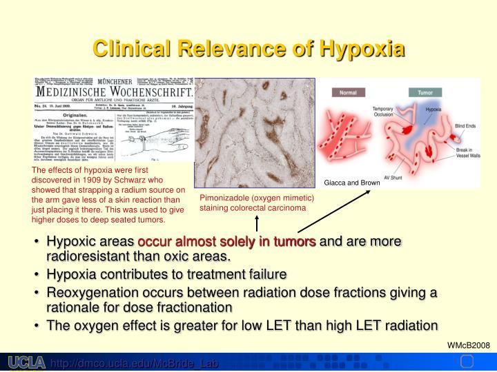 Hypoxic areas