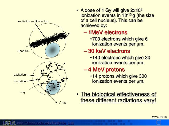excitation and ionization